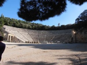 Epidauros Ancient Theater l senioren zeilvakantie l Zeilen in Griekenland - Mooi Weer Zeilen, BQ Yachting